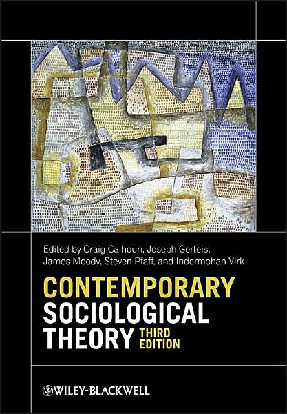 Contemporary Sociological Theory PDF
