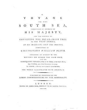A Voyage to the South Sea  Undertaken for the Purpose of Conveying the Bread fruit tree to the West Indies  etc   PDF
