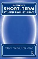 Intensive Short Term Dynamic Psychotherapy PDF