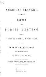 American Slavery Book PDF