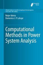 Computational Methods in Power System Analysis PDF