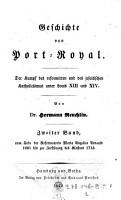 Geschichte von Port Royal PDF