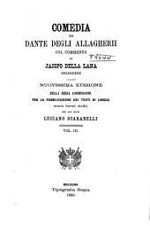 Comedia di Dante degli Allagherii: Volume 3;Volume 40