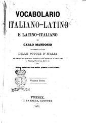 Vocabolario italino-Latino