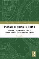 Private Lending in China PDF