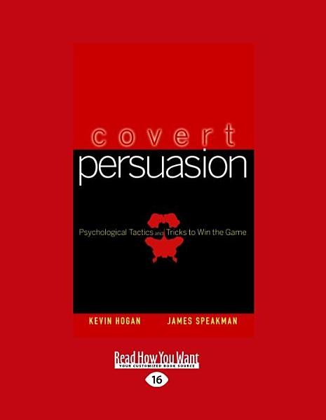 Covert Persuasion