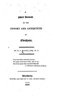 A short account of the history and antiquities of Evesham PDF