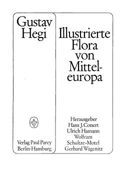 Illustrierte Flora von Mittel Europa PDF