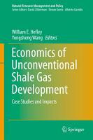 Economics of Unconventional Shale Gas Development PDF