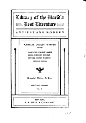 Library of the World's Best Literature, Ancient and Modern: Volume 2