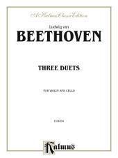 Three Duets for Violin and Cello: String Duo - Violin and Cello