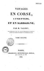 Voyages en Corse, à l'Ile d'Elbe et en Sardaigne