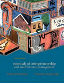 Essentials of Entrepreneurship and Small Business Management
