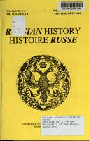 Histoire Russe PDF