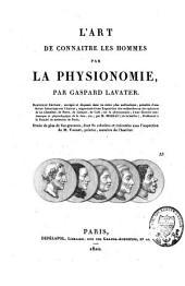L'art de connaître les hommes par la physionomie: Volume2