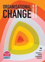Organisational Change: Development and Transformation