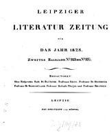 Leipziger Literaturzeitung PDF