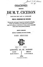 Oraciones escogidas de M. T. Ciceron: Volume 2
