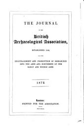 The Journal of the British Archaeological Association: Volume 28