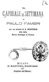 Il caporale di settimana di Paulo Fambri