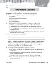 To Kill a Mockingbird Comprehension Assessment