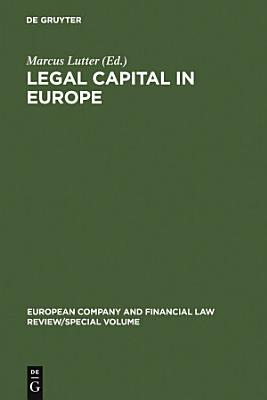 Legal Capital in Europe PDF