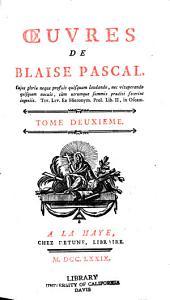 Œuvres de Blaise Pascal: Volume2