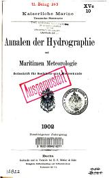 Annalen der Hydrographie und maritimen Meteorologie PDF