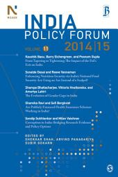 India Policy Forum 2014-15: Volume 11