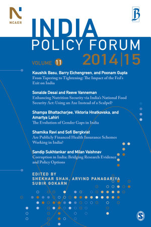 India Policy Forum 2014 15 PDF