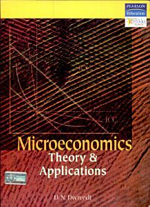 Microeconomics  Theory And Applications Book