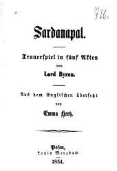 Sardanapal: trauerspiel in fünf akten
