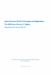 Digital Elevation Model Technologies And Applications Book PDF