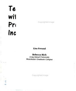Teaching Students with Learning Problems in the Inclusive Classroom Book