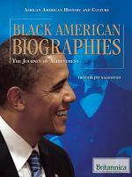 Black American Biographies