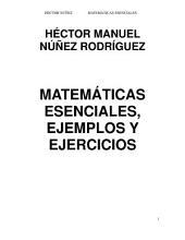 MATEMÁTICAS ESENCIALES, EJEMPLOS Y EJERCICIOS
