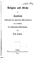 Geschichte der franz  sischen Revolution bis zur Stiftung der Republik PDF