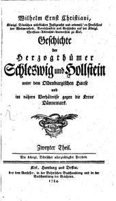 Geschichte der Herzogthümer Schleswig und Hollstein: Band 2