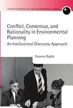 Conflict  Consensus  and Rationality in Environmental Planning PDF