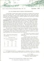 U.S. Forest Service research note SE.