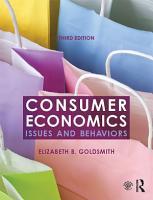 Consumer Economics PDF