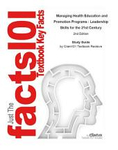 Managing Health Education and Promotion Programs , Leadership Skills for the 21st Century: Business, Management, Edition 2