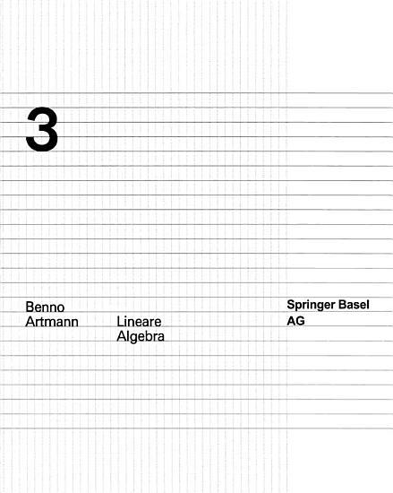 Lineare Algebra PDF
