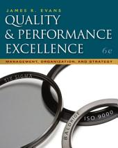 Quality & Performance Excellence: Edition 6