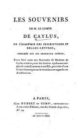 Les souvenirs de Mme de Caylus