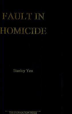Fault in Homicide