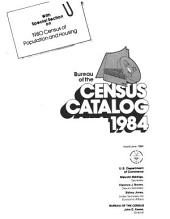 Bureau of the Census Catalog
