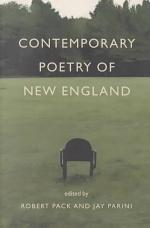 Contemporary Poetry of New England