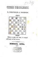 Chess Problems PDF