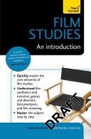 Film Studies  An Introduction